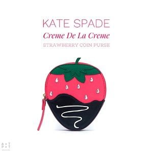 Kate Spade Creme De La Creme Strawberry Coin Purse